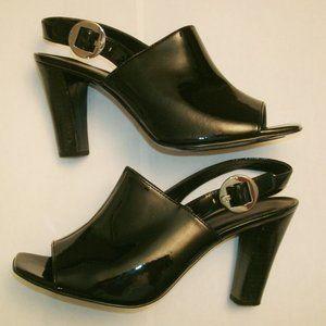 Anne Klein Black Slingback High Heels, size 8